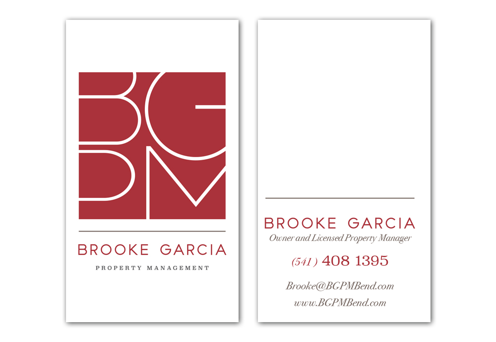 BGPM Bend business cards