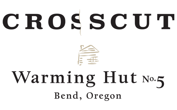 Crosscut - Warming Hut No. 5 logo design