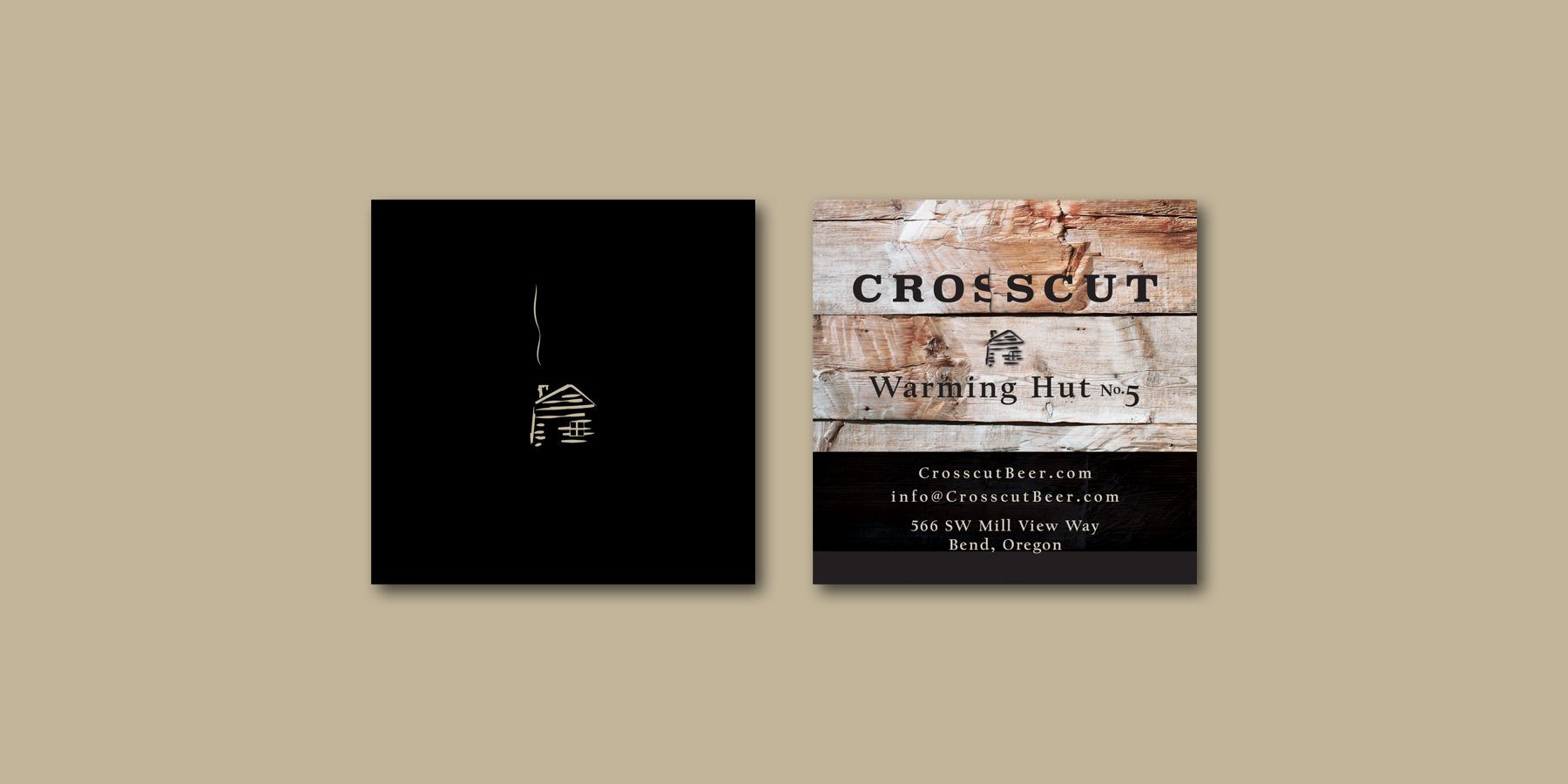 Crosscut Bend businesscards