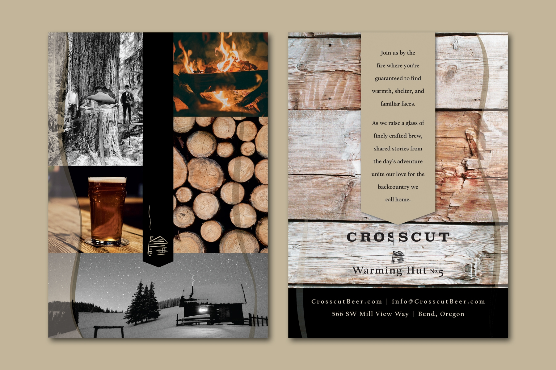 Crosscut Bend post cards
