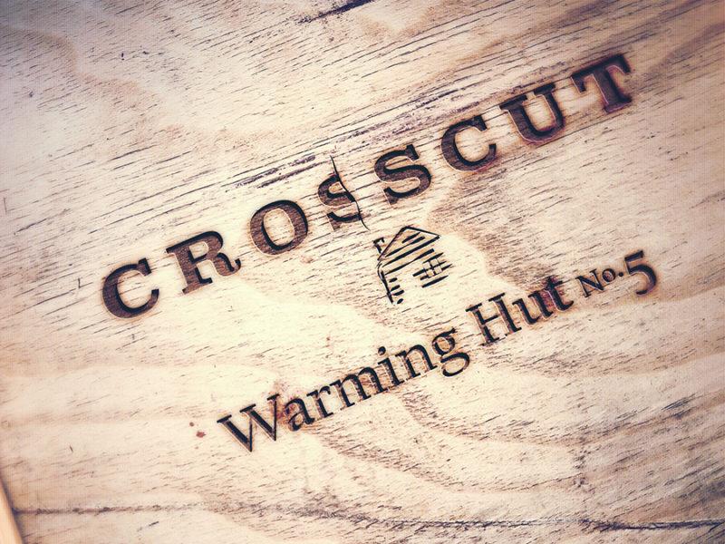 Crosscut Bend logo design