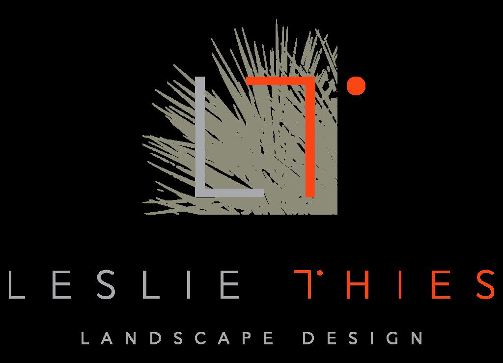 Leslie Thies Landscape Design logo brand design