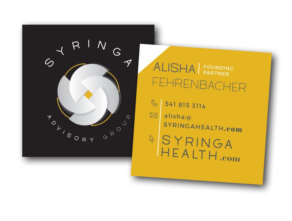 Syringa business cards