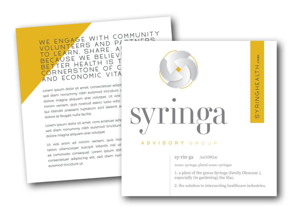 Syringa postcard